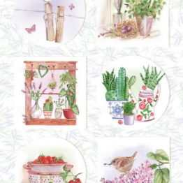 Marianne Design - Knipvel French antiques herbs