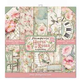 Paperpad Stamperia - 30,5 x 30,5 cm - House of Roses