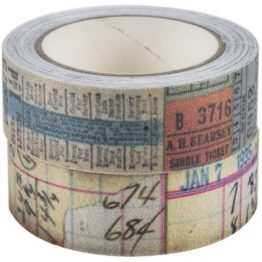 Idea-ology Tim Holtz Fabric Tape (TH94041)