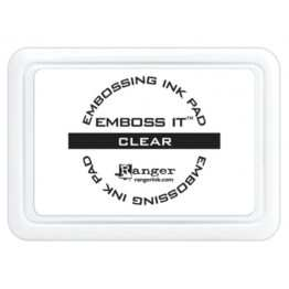 Emboss it ink pad clear Ranger