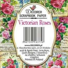 Decorer Victorian Roses Paper Pack